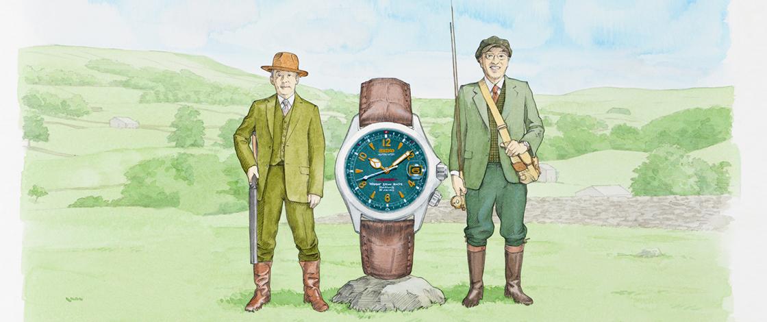 Vol.8 セイコー史上、最も謎めく緑の時計。