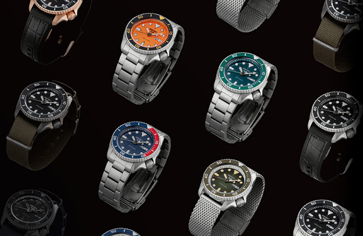 "Vol.16 ""Show Your Style."" The New Seiko 5 Sports"
