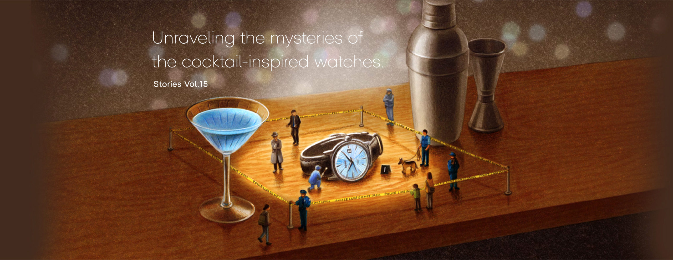 Vol.15 Unraveling the mysteries of the cocktail-inspired watches.