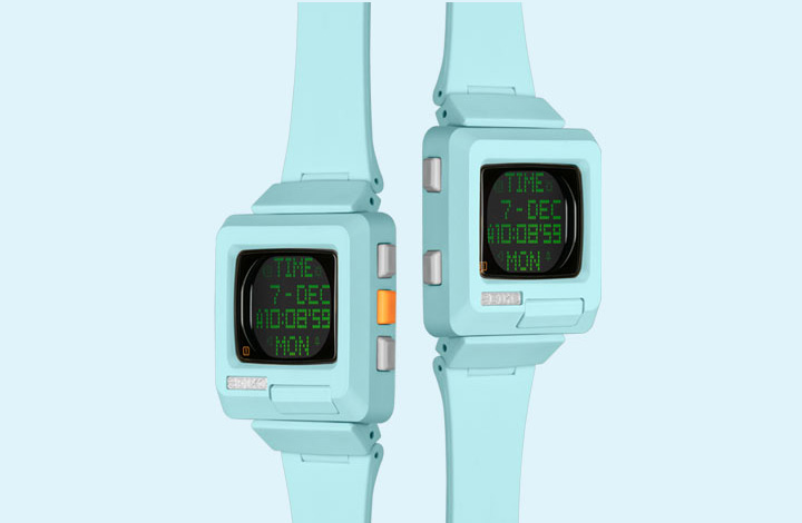 Vol.8 Cuteness and progress. The design of Seiko h-timetron.