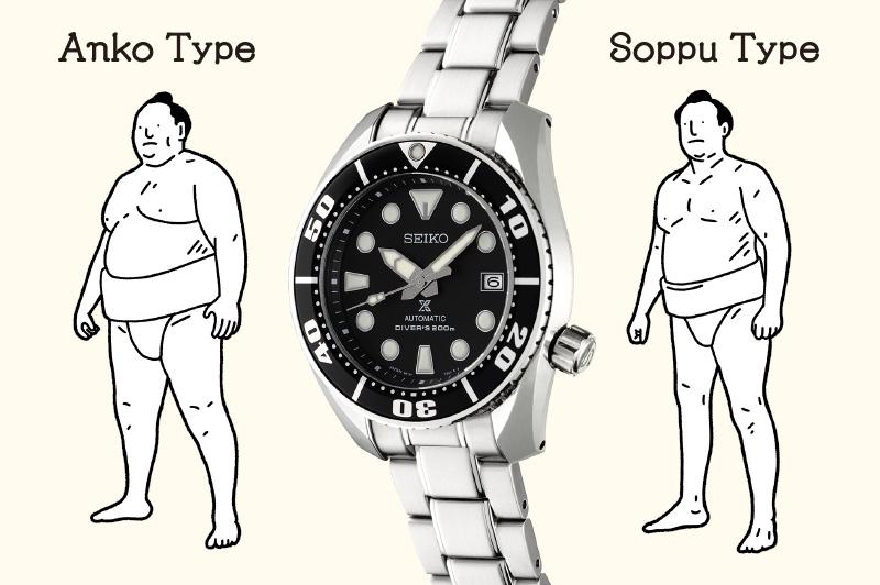 Anko type and soppu type