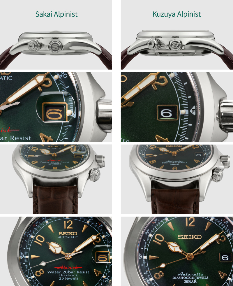differences in the two Alpinists