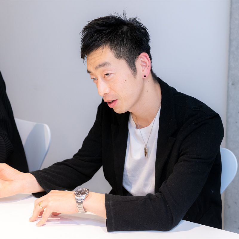林登志也氏の写真
