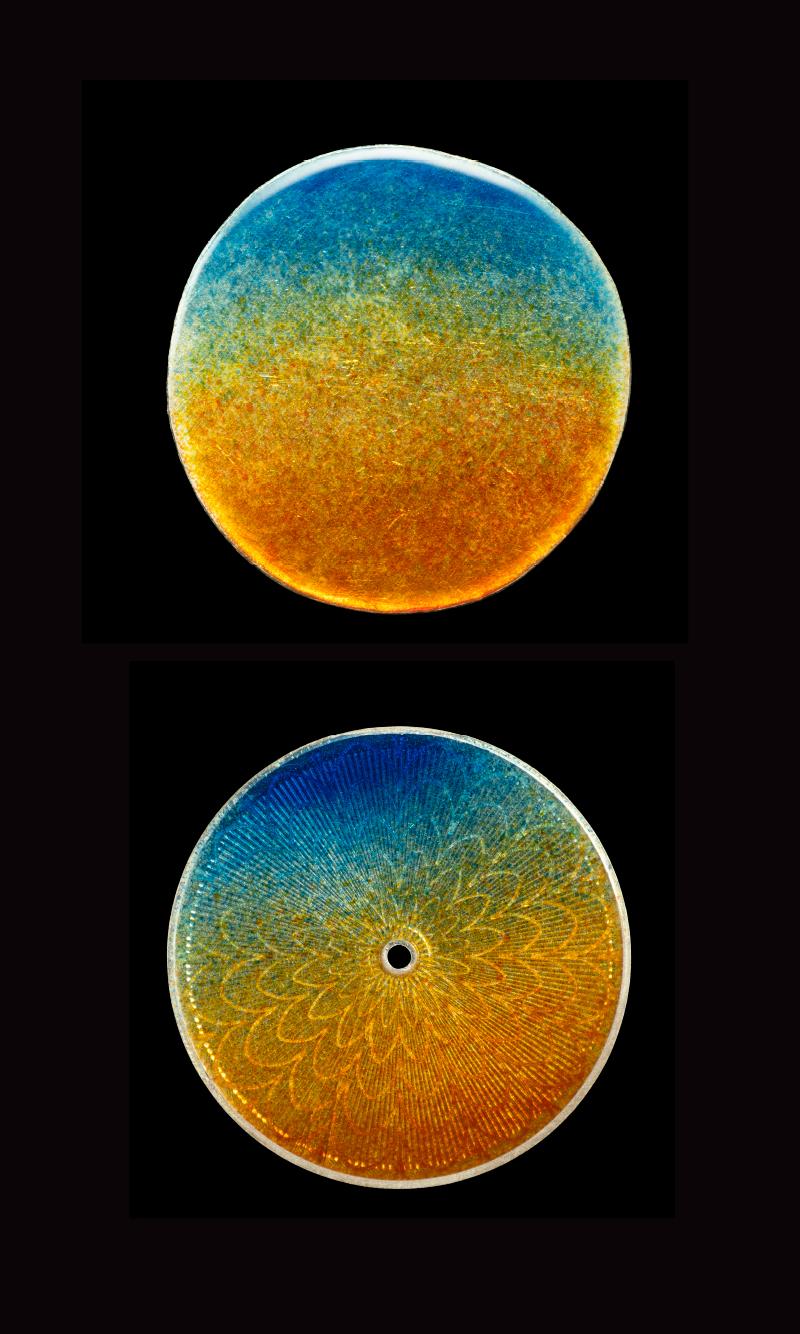 エナメルベースのグラデーション比較写真