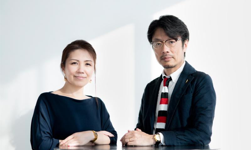 半田と佐藤の写真