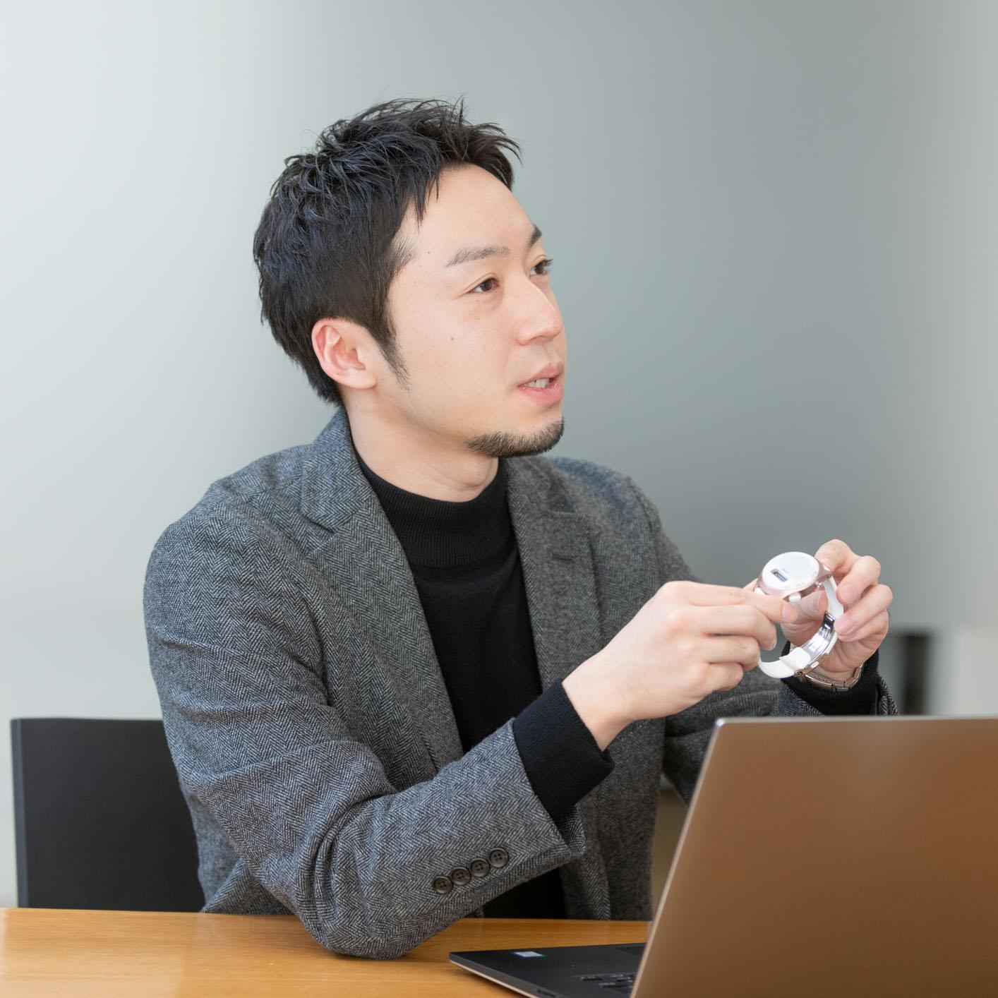 松榮氏の写真