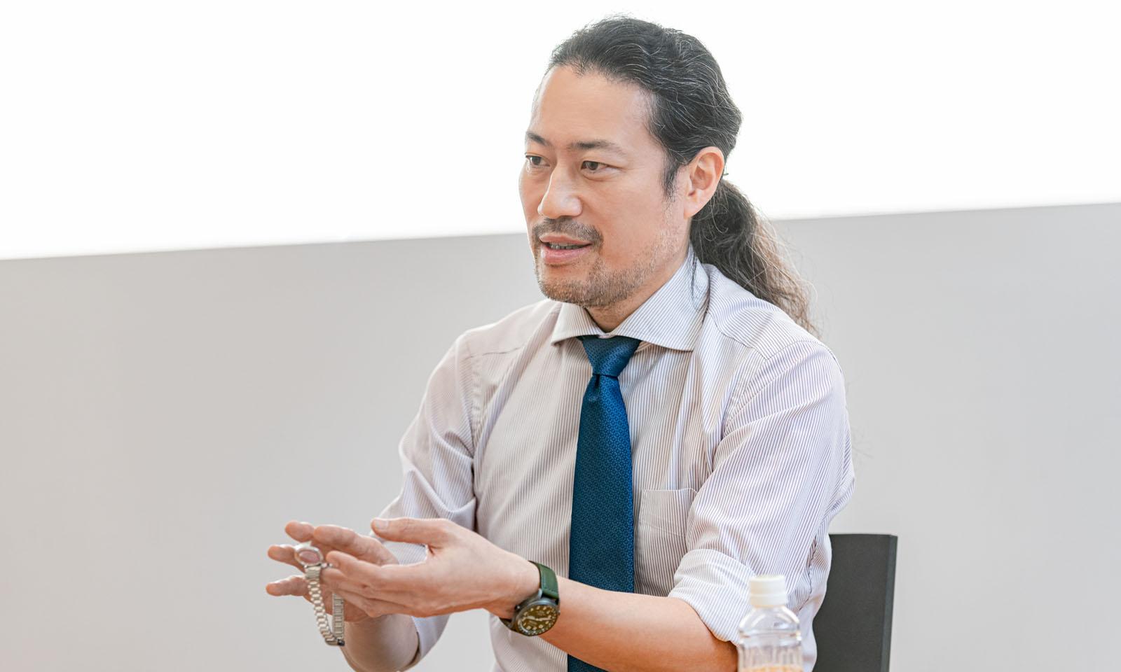 長谷川氏の写真